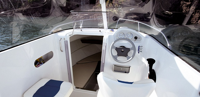 Катер с кабиной Pilothouse 530