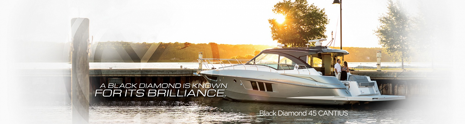 Cruisers Yachts 45 Cantius BLACK DIAMOND